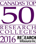 Canada's Top 50 Research Colleges 2015