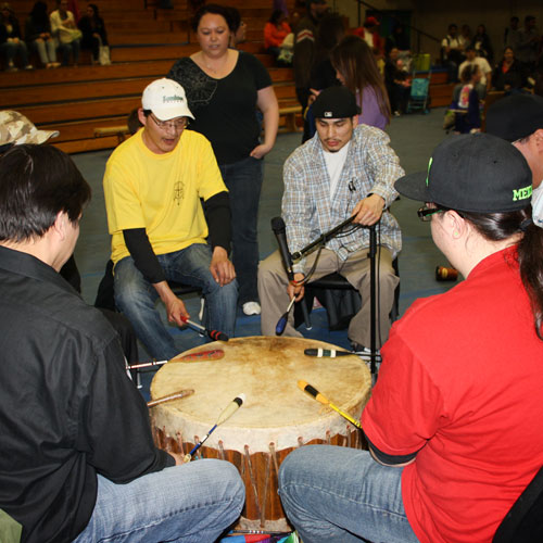 Annual Powwow Drumming