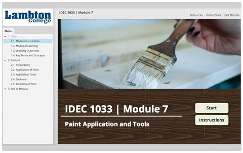 Paint Application and Tools Title Page