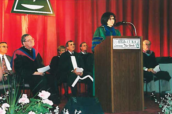Convocation 1997 Digitaries