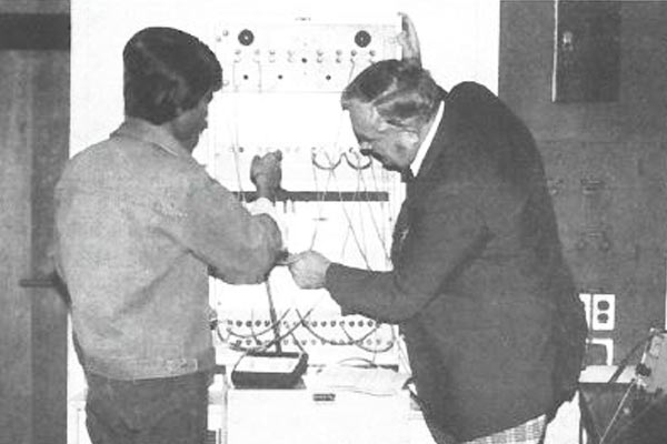 Electronics Engineering Lab with Bruno Sawinski from Academic Year 1982-1983